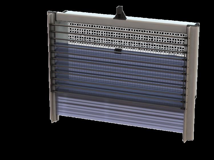 Windventiel Uniflex Transparante schuif