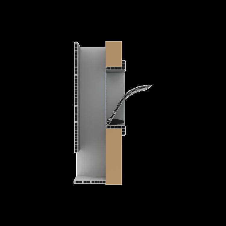 Windventiel Uniflex Windbreekkap